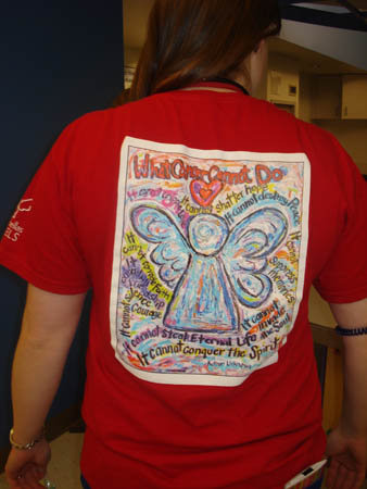 What Cancer Cannot Do Angel T Shirt Fundraiser Txccc