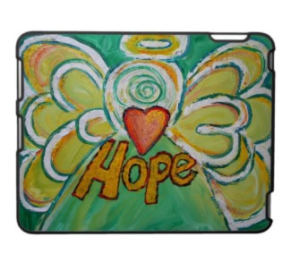 Hope Angel Art iPad Case