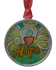 Hope Angel Ornament