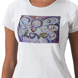 Love Angel Shirt (Art on Front Side)
