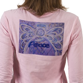 Peace Angel T-shirt (Painting on Back)