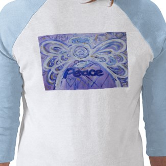 Peace Angel T-Shirt (Double Image)