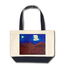 Care of the Soul Angel Tote Bag bag