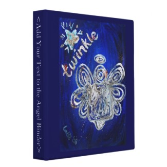 Twinkle Angel Binder or Notebook