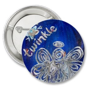 Twinkle Angel Button