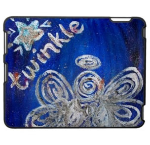 Twinkle Angel iPad Speck Case
