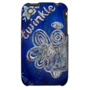 Twinkle Angel iPhone 3 Speck Hard Case