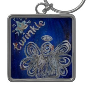 Twinkle Angel Keychains