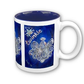 Twinkle Angel Mug or Cup