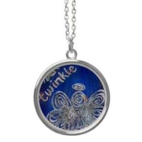 Twinkle Angel Silver Necklace Pendant
