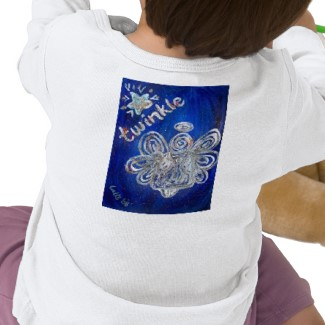 Twinkle Angel T-shirt Picture on Back