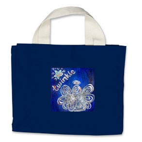 Twinkle Angel Tote Bag
