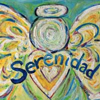 Serenidad Angel Word