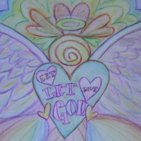 Let Love, Let God Angel Art