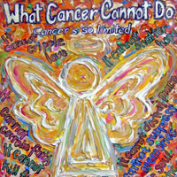 Southwest Cancer Angel Painting