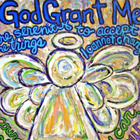 Serenity Prayer Angel Art