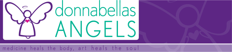 DonnaBellas Angels Medicine Heals the Body Art Heals the Soul