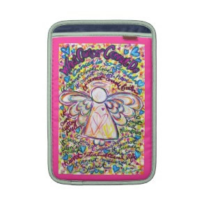 Spring Hearts Cancer Cannot Do Angel iPad Sleeve rickshawsleeve