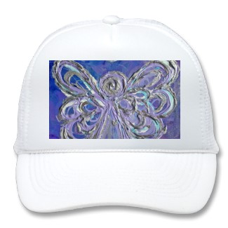 Purple Angel Hat or Caps
