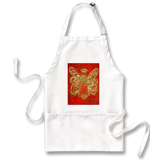 red Angel Artwork Apron