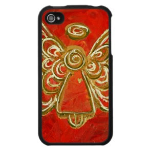 Red Angel Art iPhone 4 Case