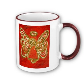 Red Angel WIngs Mug Cup