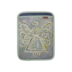 White Angel Art Painting iPad Computer Sleeves rickshawsleeve