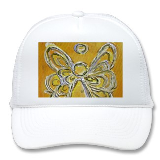 Yellow Angel Hat or Cap