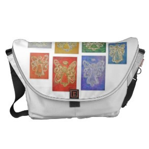 Angel Color Series Messenger Tote Computer Bag rickshawmessengerbag