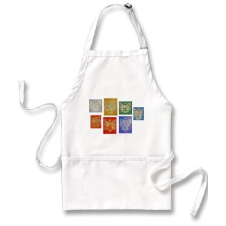 Angel Color Series Aprons Painting
