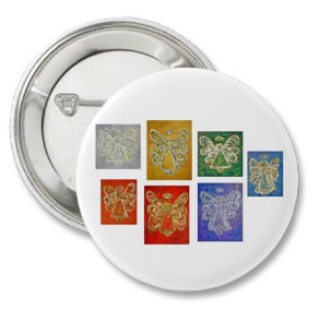 Angel Color Series Button Round
