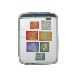 Angel Color Series Paintings iPad Computer Sleeve rickshawsleeve