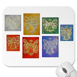 Angel Rainbow Color Series Mousepad