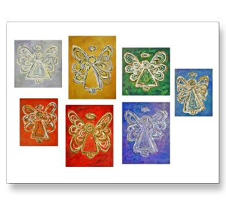 Angel Color Series Postcards