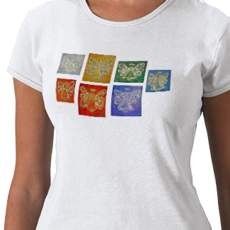 Angel Color Series painting image front shirt