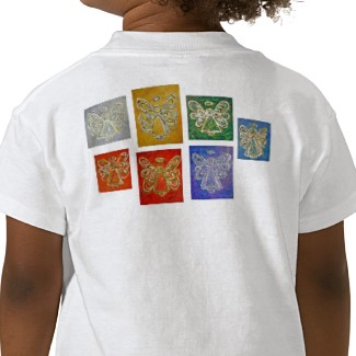 Angel Color Series Shirt Image T-shirt Back