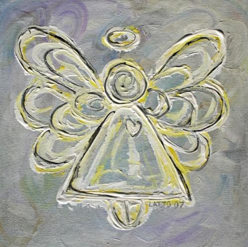 White Angel Painting