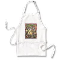 Serenity Prayer Angel Apron (Spanish text)