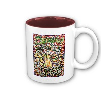 Serenity Prayer Angel Mug (Spanish text)