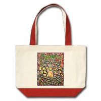 Serenity Prayer Angel Bag (Spanish text)