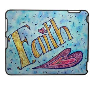 Faith Art iPad Fitted Hard Plastic Case