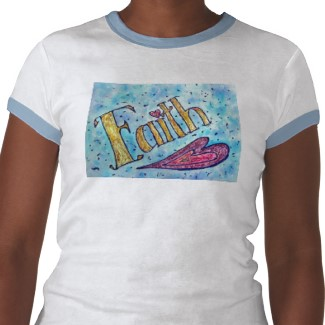 Faith T-shirt (Front Image)