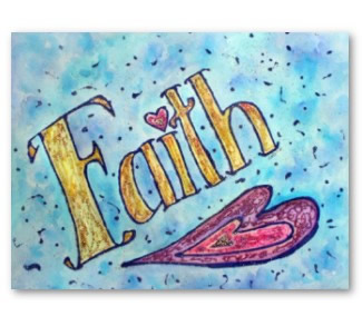 Faith Art Poster Print