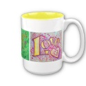 Faith, Hope, Love Mug (View Right)
