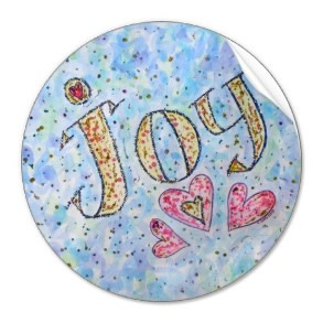 Joy Art Sticker