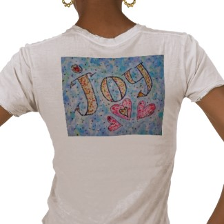 Joy T-shirt (Image on Back)