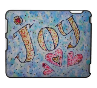 Joy Art iPad Fitted Plastic Case