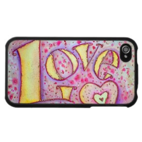 Love iPhone Hard Case