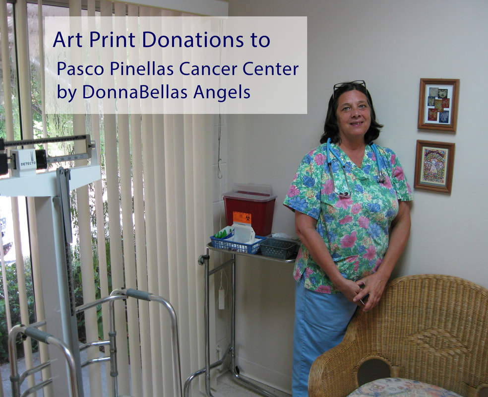 Art Print Donations to Pasco Pinellas Cancer Center
