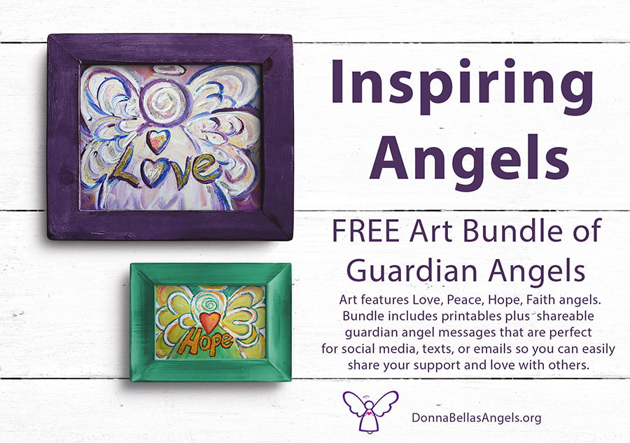 Guardian Angels Word Art Bundle